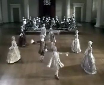 Minuet Dance (YouTube screen shot)